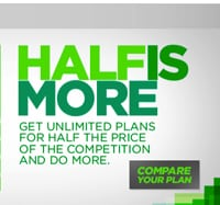 """Cricket """"Half is More"""" campaign"""