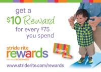 Stride Rite Rewards loyalty program