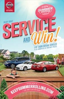 Nissan Keep Summer Rolling marketing event
