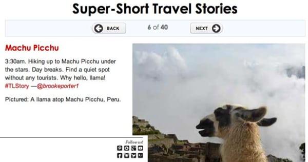 T+L Super Short Stories