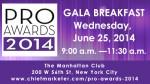 2014 PRO Awards Gala