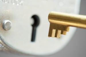 lock-key-gated