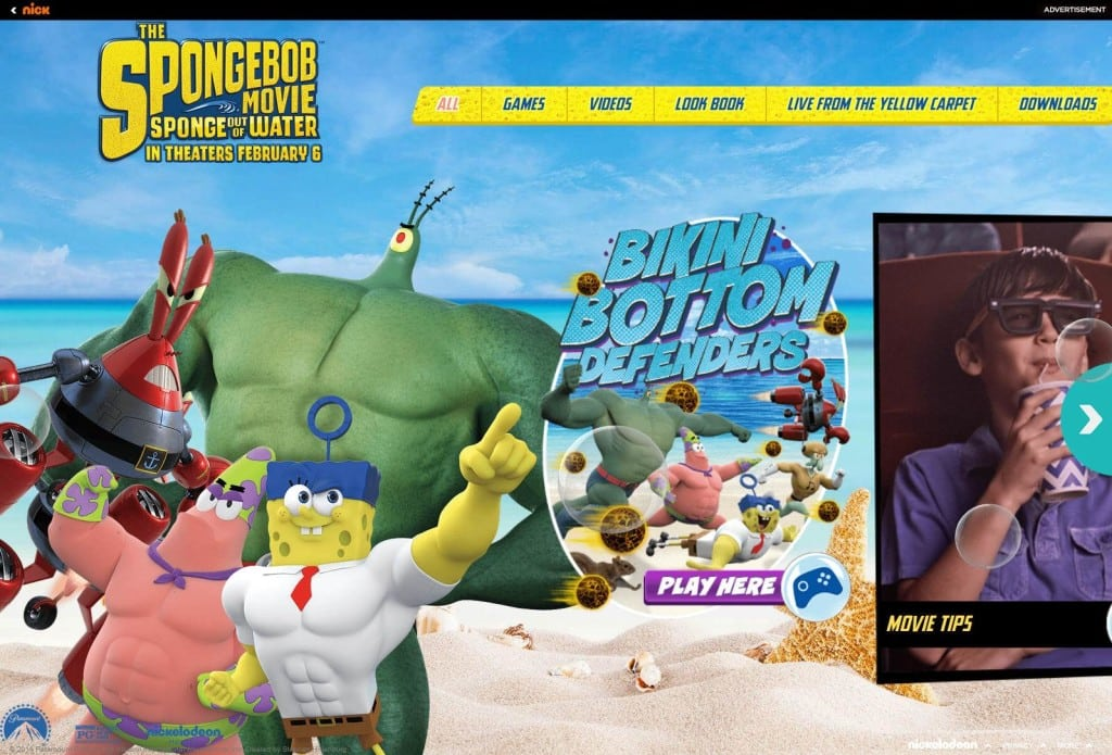 spongebob free games download full version