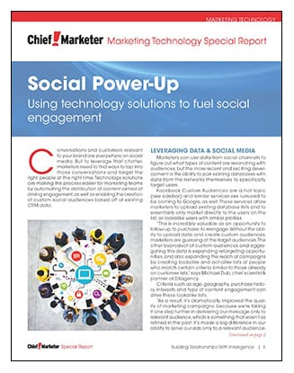 Social Power-Up Special Report