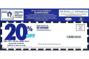 popular coupons hurt bed bath beyond chief marketer