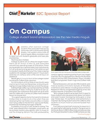 On Campus Special Report
