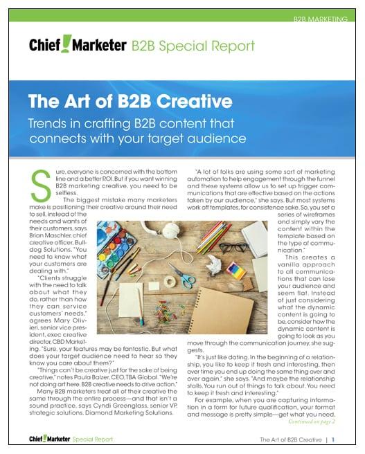 Art of B2B Special Report