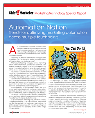 Automation Special Report