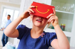 happy meal VR