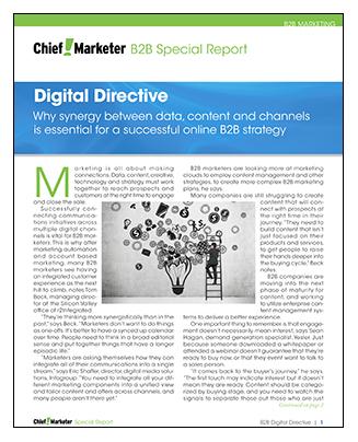 B2B Digital Directive Special Report
