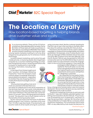 The Location of Loyalty Special Report