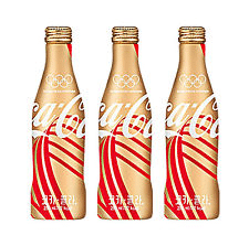 Coca-Cola's 2016 Olympic commemorative Coke bottles.