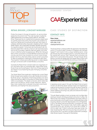 CAA Experiential Case Study