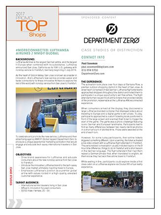 Department Zero Case Study