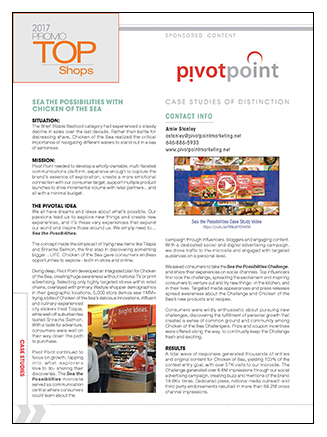 Pivot Point Marketing Case Study