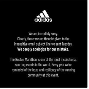 d4629b13560c Why Didn t Adidas Learn from Past Gaffes  - Chief Marketer