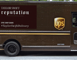 Taylor Swift and UPS