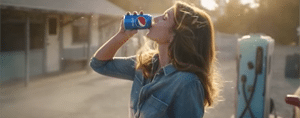Cindy Crawford and Pepsi