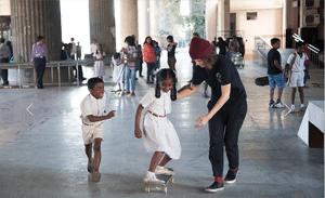 girls skate park India