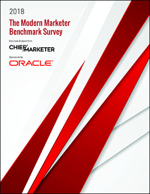 The Modern Marketer Benchmark Survey Cover