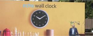 Alexa wall clock