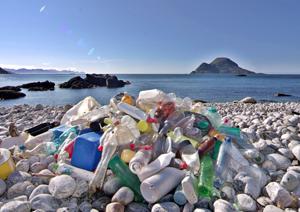 ocean-bound plastic