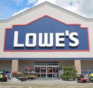 Lowe's NFL sponsorship