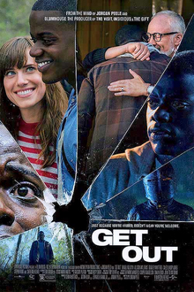 get out poster AI