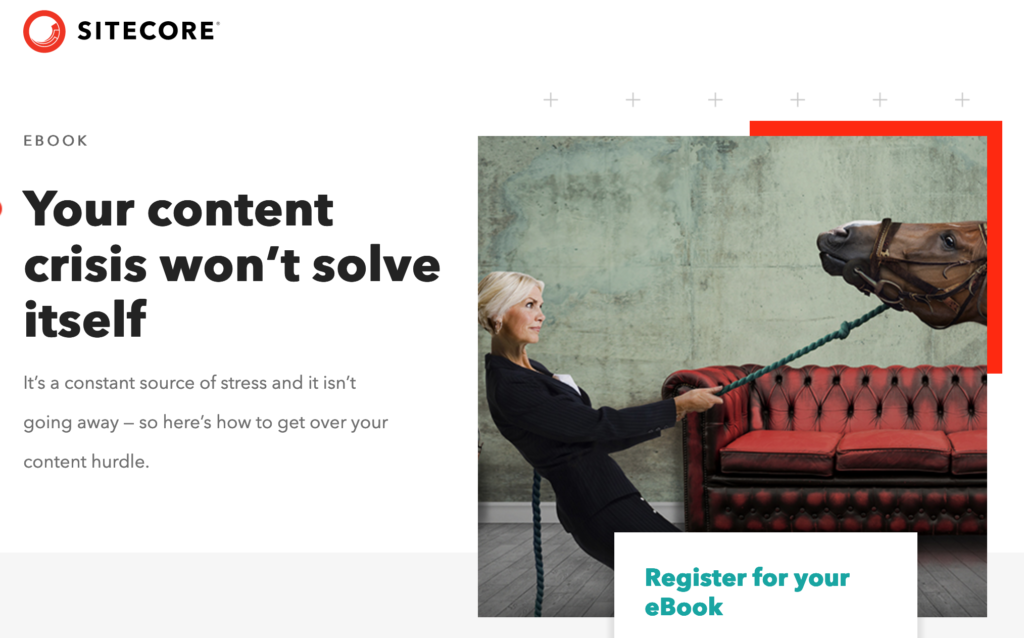 Sitecore Ebook - Your Content Crisis Won't Solve Itself