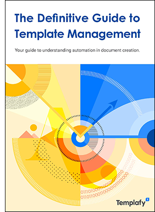 2020 Templafy Special Report Cover Template Management